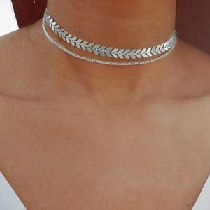 Jewelry - Silver Boho Goddess Choker Necklace